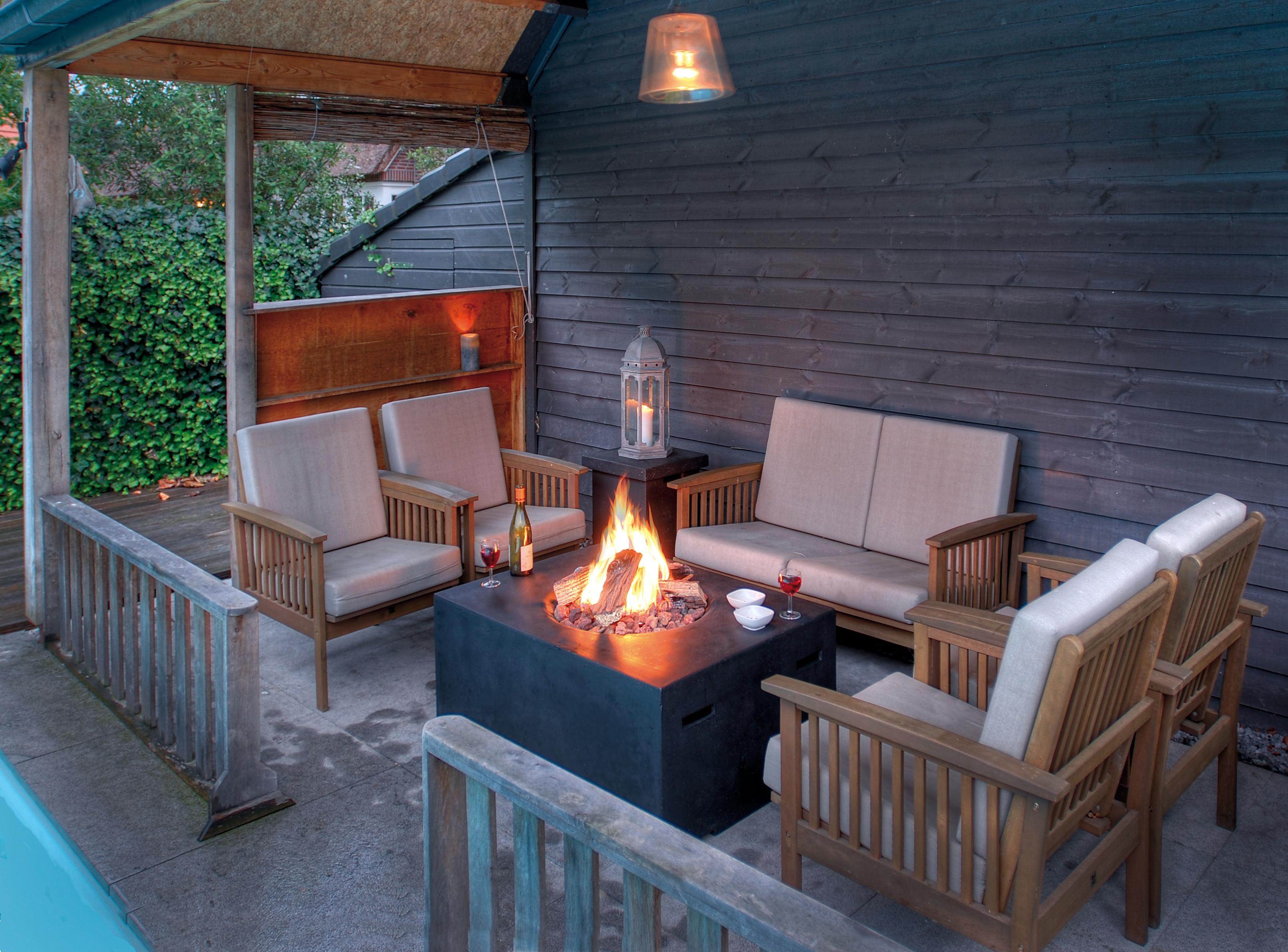 presse | garten und terrassen-feuerstellen - gemütlichkeit und wärme